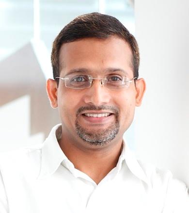 Portrait of Vijay K Tiwari