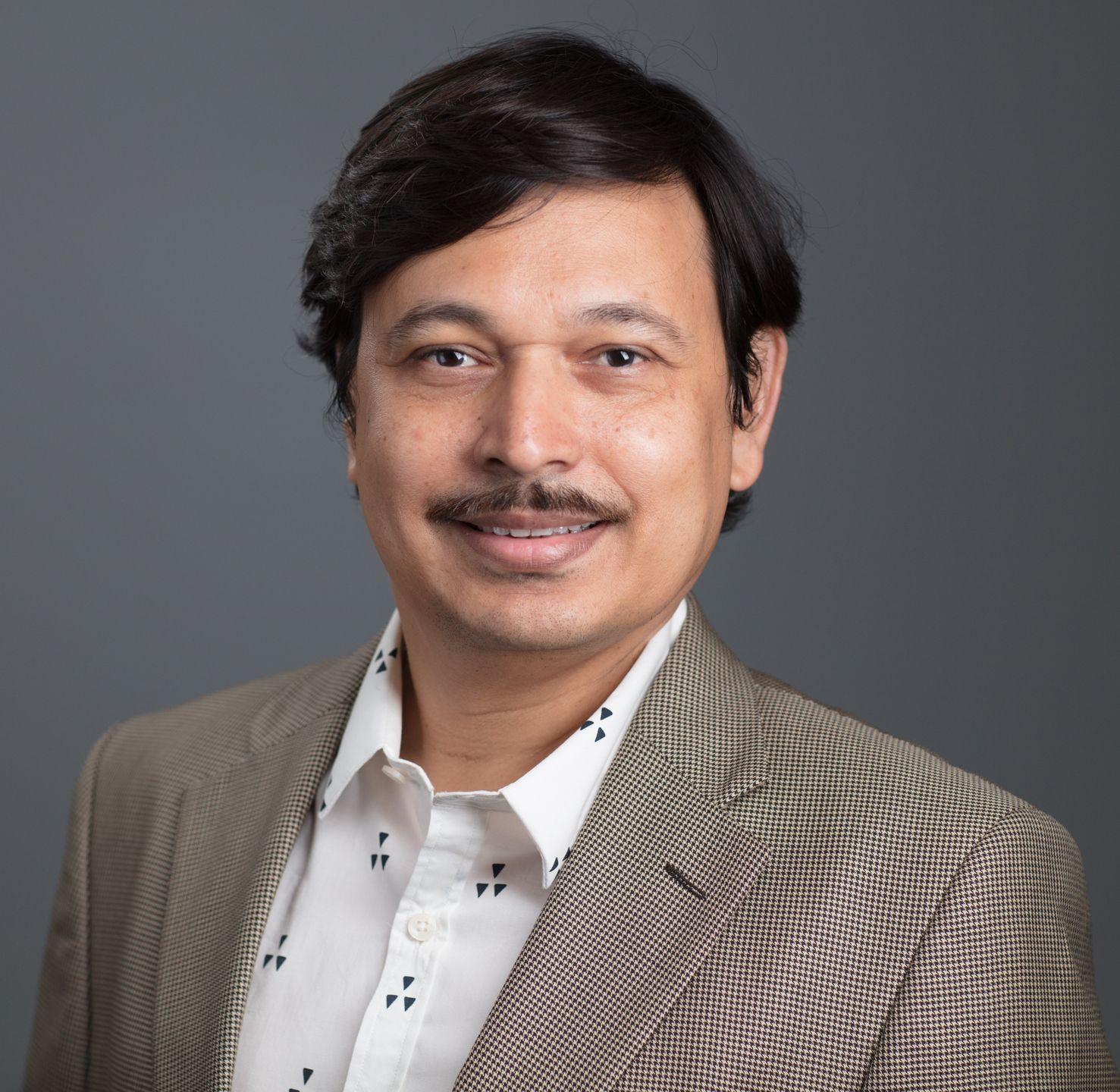 Portrait of Nupam Mahajan