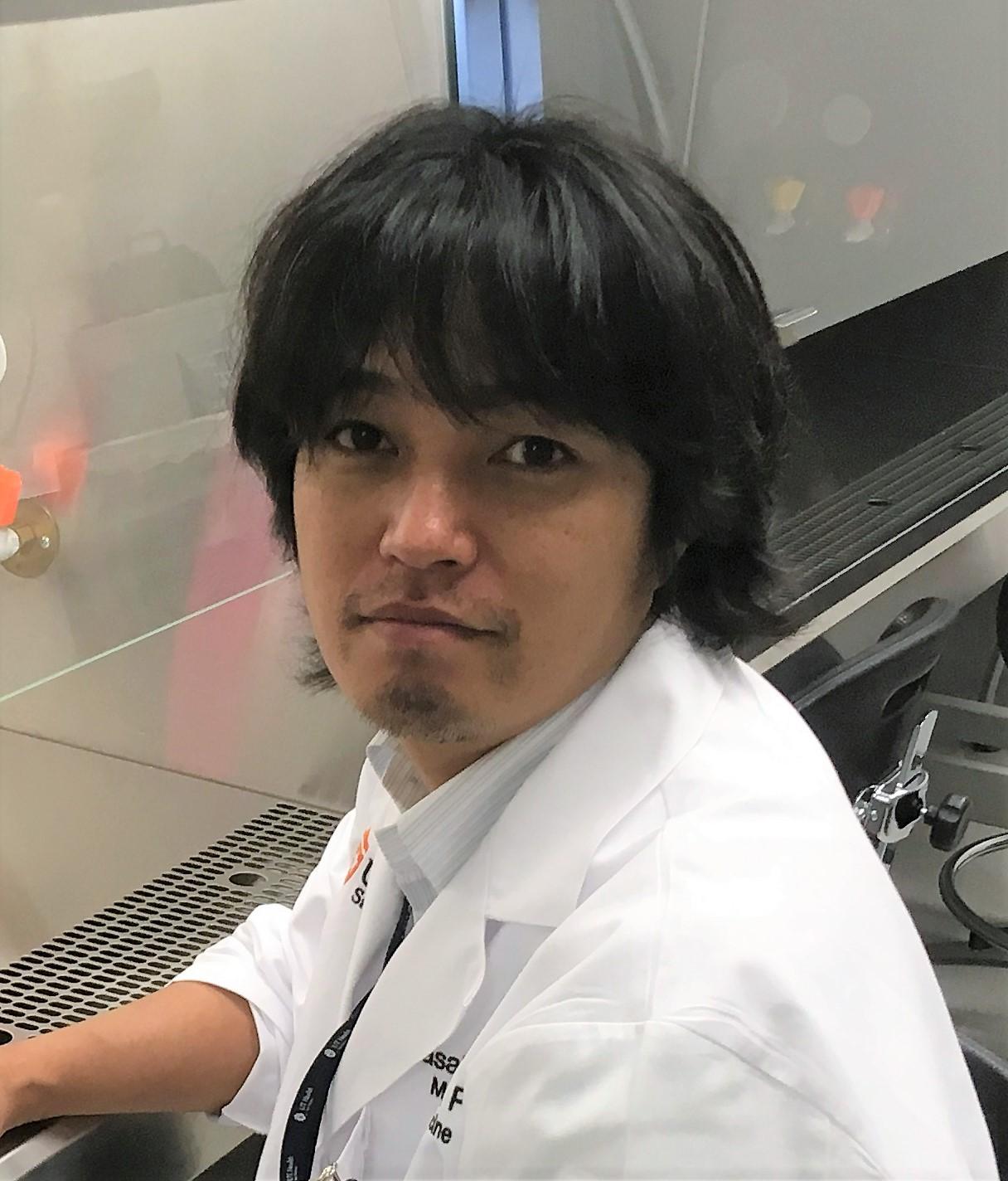 Portrait of Masahiro Morita