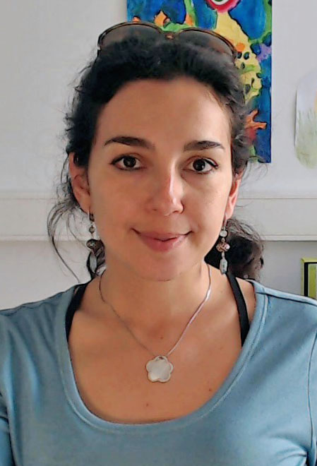 Portrait of Vassiliki Nikoletopoulou