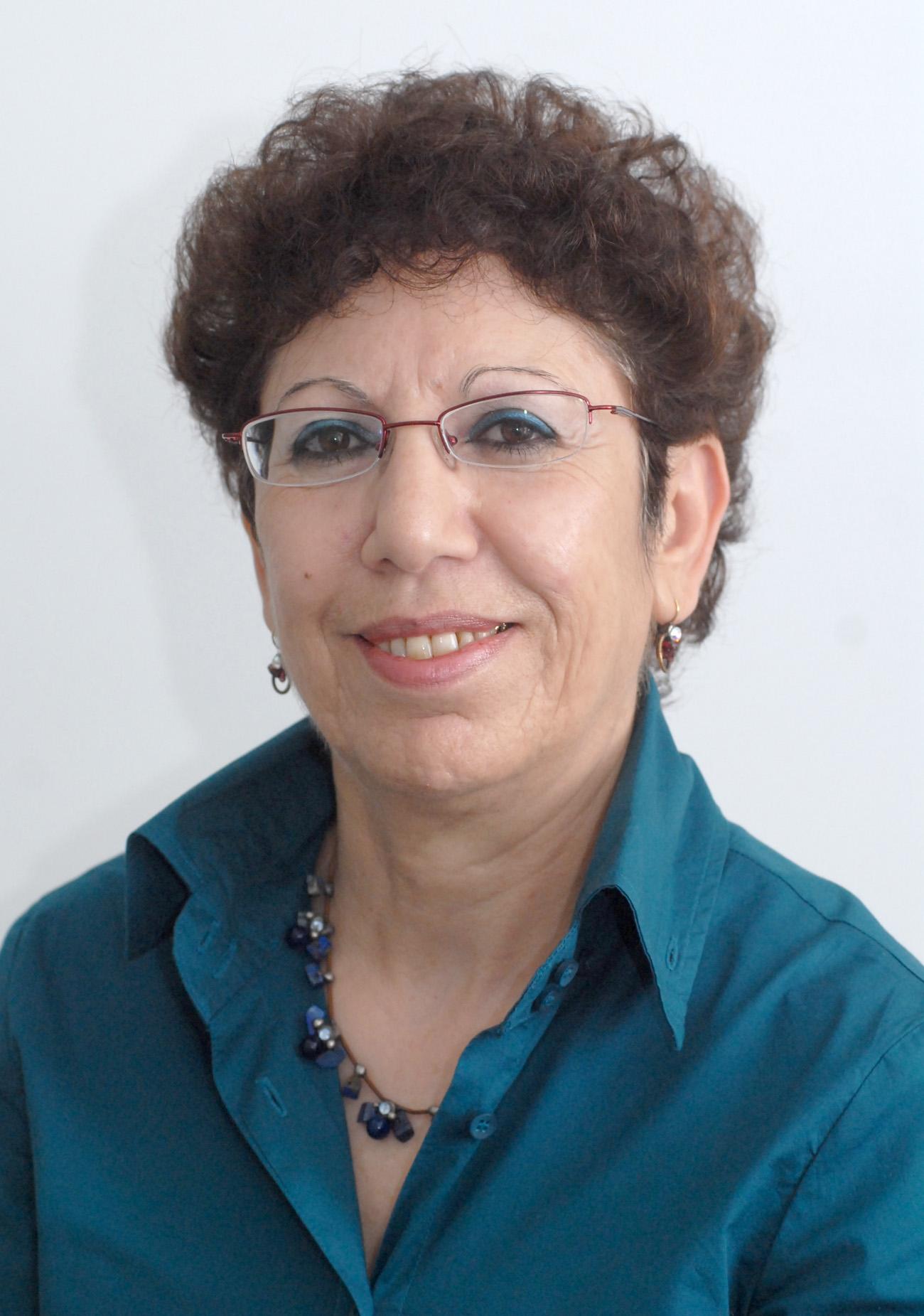 Portrait of Varda Shoshan-Barmatz