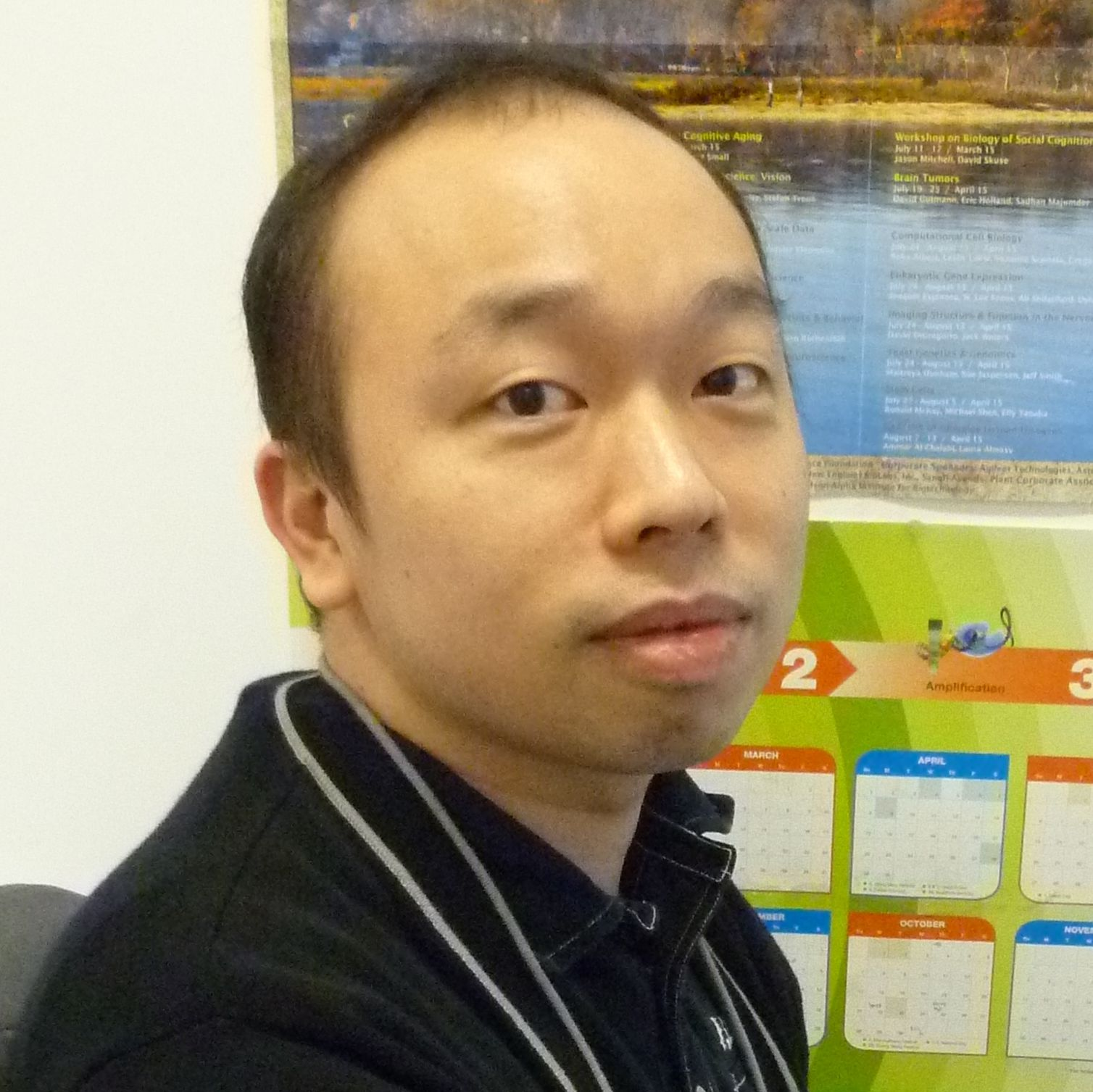 Portrait of Chi-Ming Wong