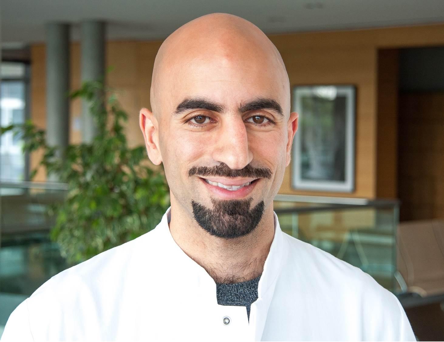 Portrait of Mohammed K Hankir
